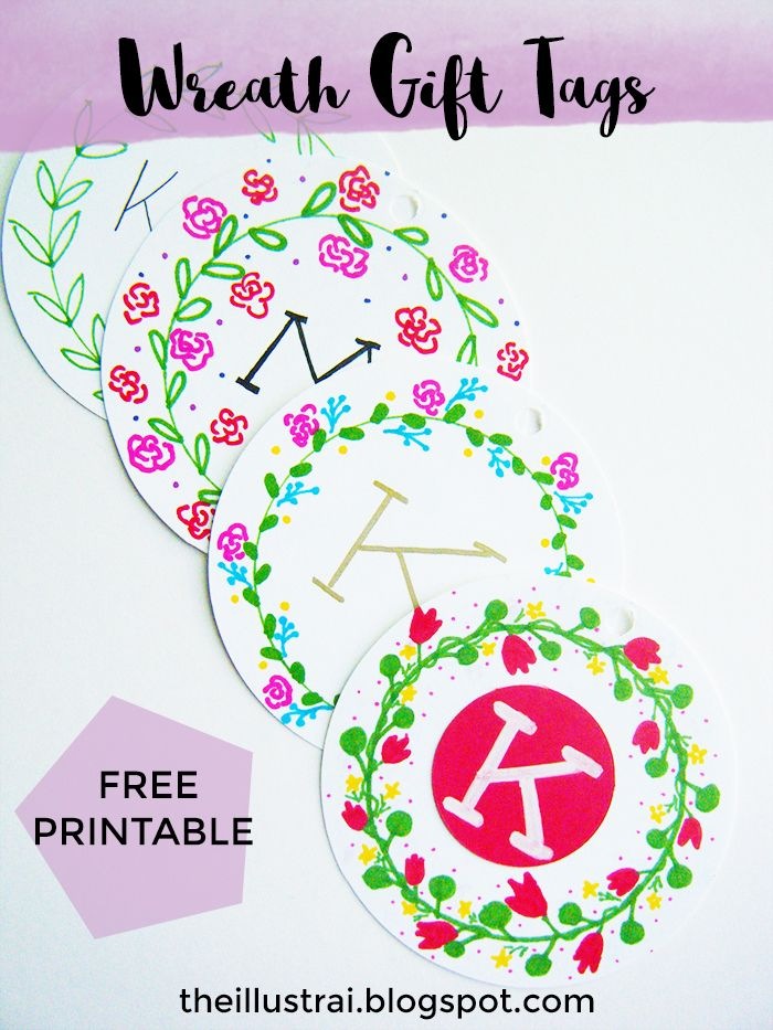Free printable wreath gift tags free printable birthday gifts download these free printable wreath gift tags just in time for easter these gift tags negle Choice Image