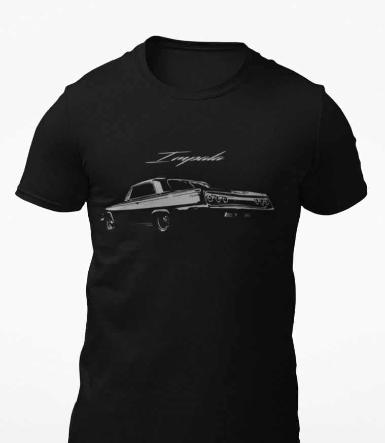 Antique Chevy Impala Short-Sleeve Unisex T-Shirt #FromThe8tees #Tshirt