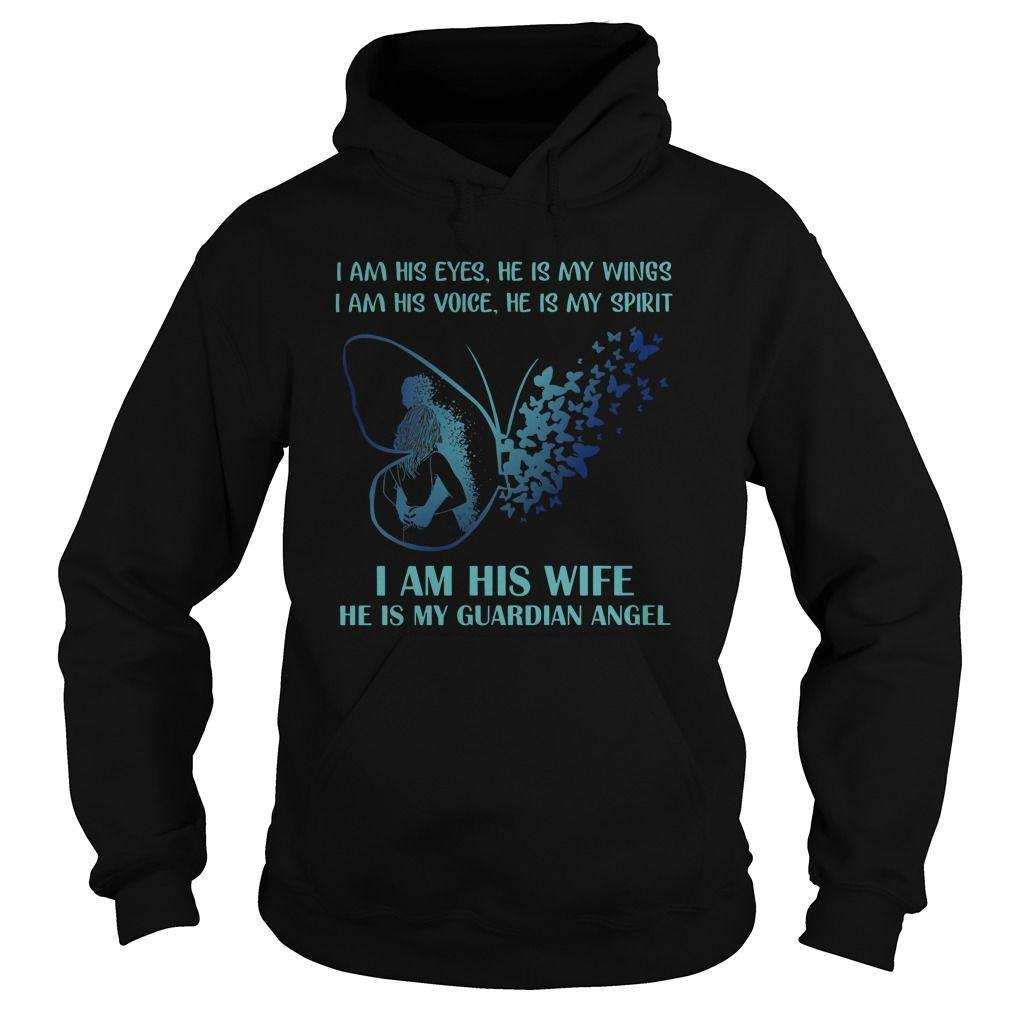 I Am His Eyes He Is My Wings Shirt T Shirt For Men Woman Wing Shirts Shirts Cool T Shirts