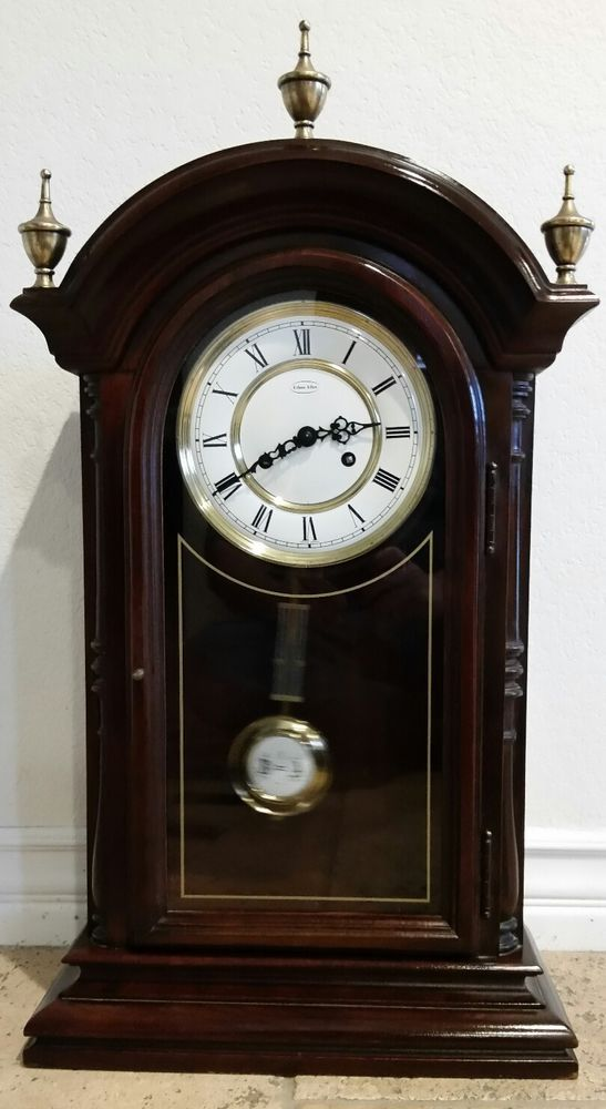 Ethan Allen Chime Clock With Urgos Movement Germany In