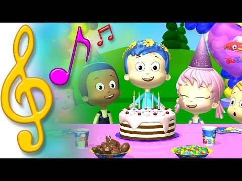 Happy Birthday Song By TuTiTu Songs An Original 3D Animated Video For Kids Blow Out The Candles And Make A Wish