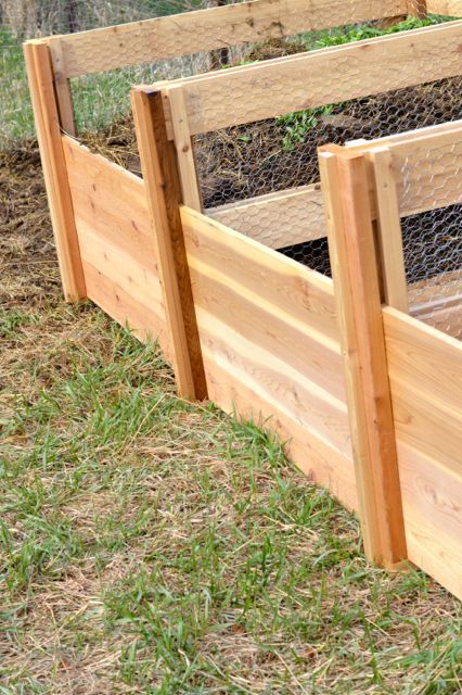 Cedar compost bins NewlyWoodwards4 In our garden tips for the kitchen garden in May we have listed the most important Garden works for this month In May the foundation st...