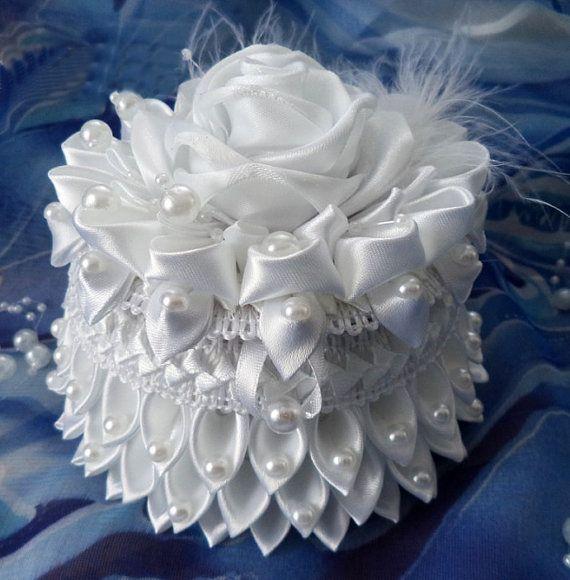 """Gift for bridesmaids. Handmade Jewelry Box """"Angel""""."""