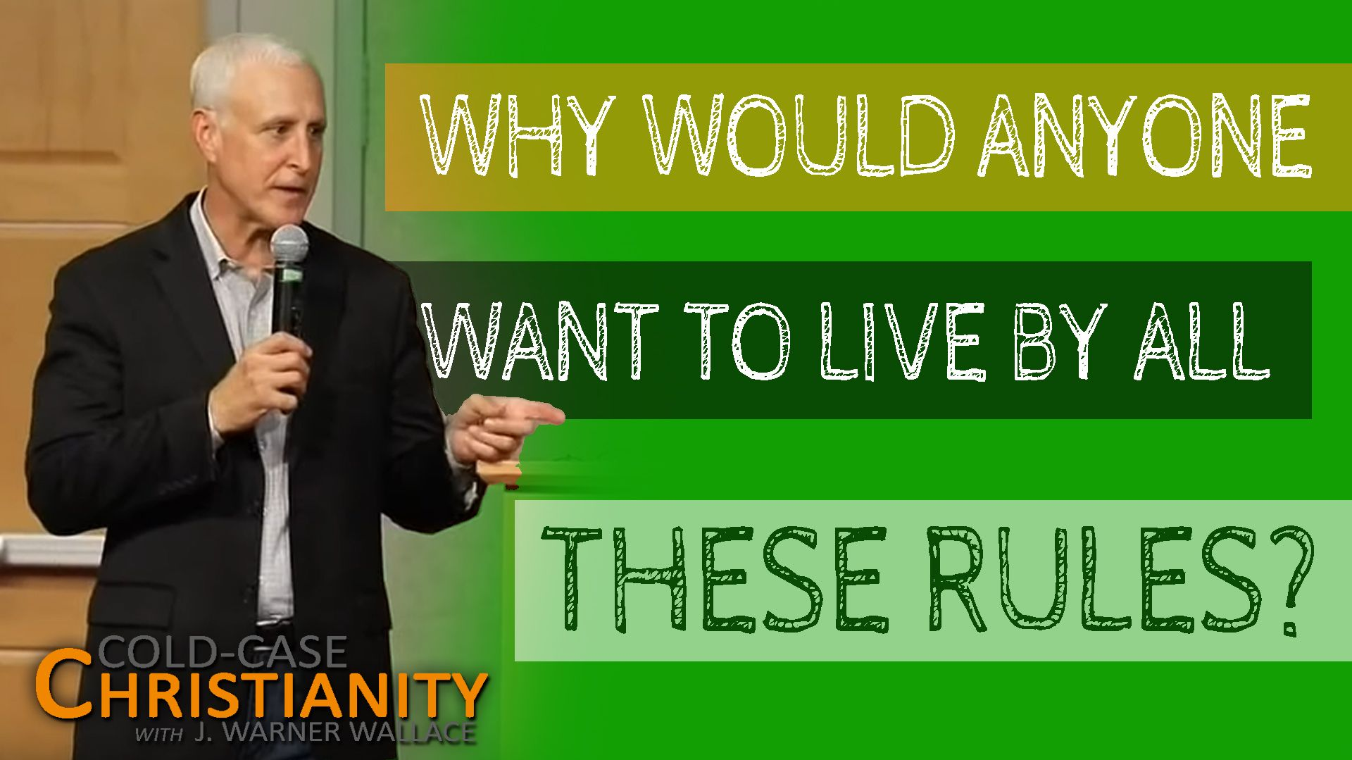 Why Should I Want To Become A Christian When I Know I Can T Live Under Its Restrictive Rules Video Cold Case Christianity In 2020 How To Become Cold Case Christian Apologetics