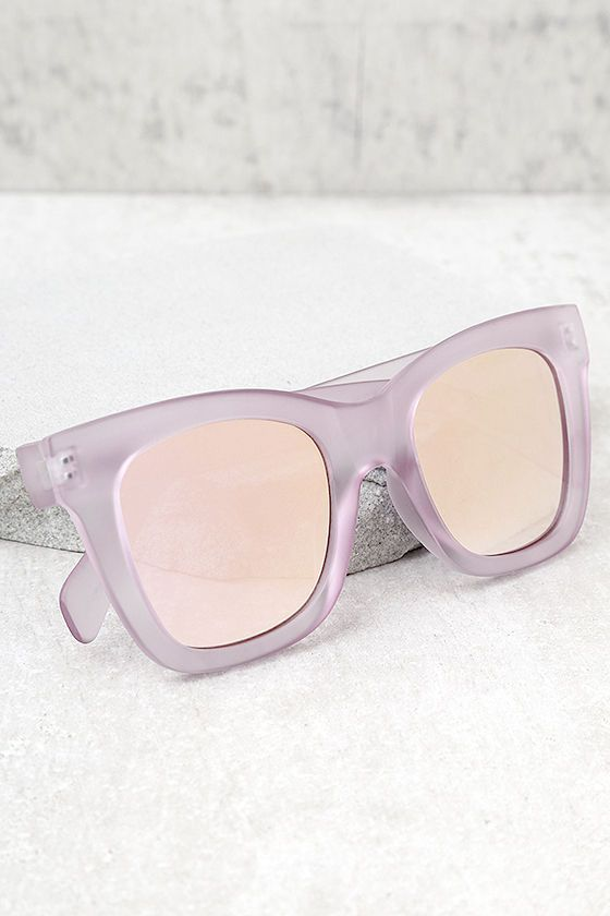 4018953d4f Quay After Hours Pink Mirrored Sunglasses