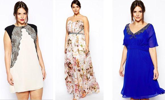 Vestidos De Tallas Grandes Para Ir A Un Bautizo Vestidos De Talla Grande Moda Para Mujer Vestidos De Fiesta