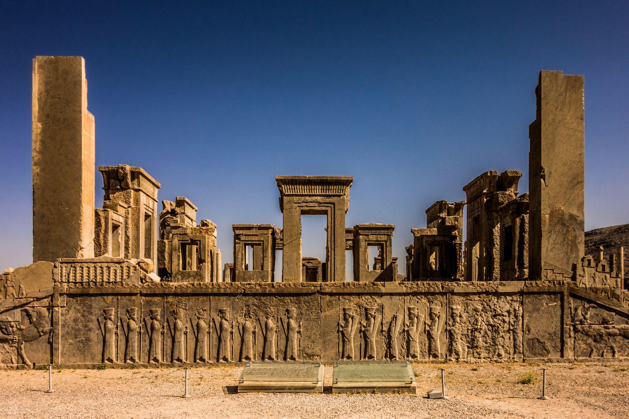 Persepolis Shiraz Iran Persian Empire Achaemenid