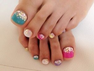 Beautiful Pedicure Ideas! Love All Of These!!