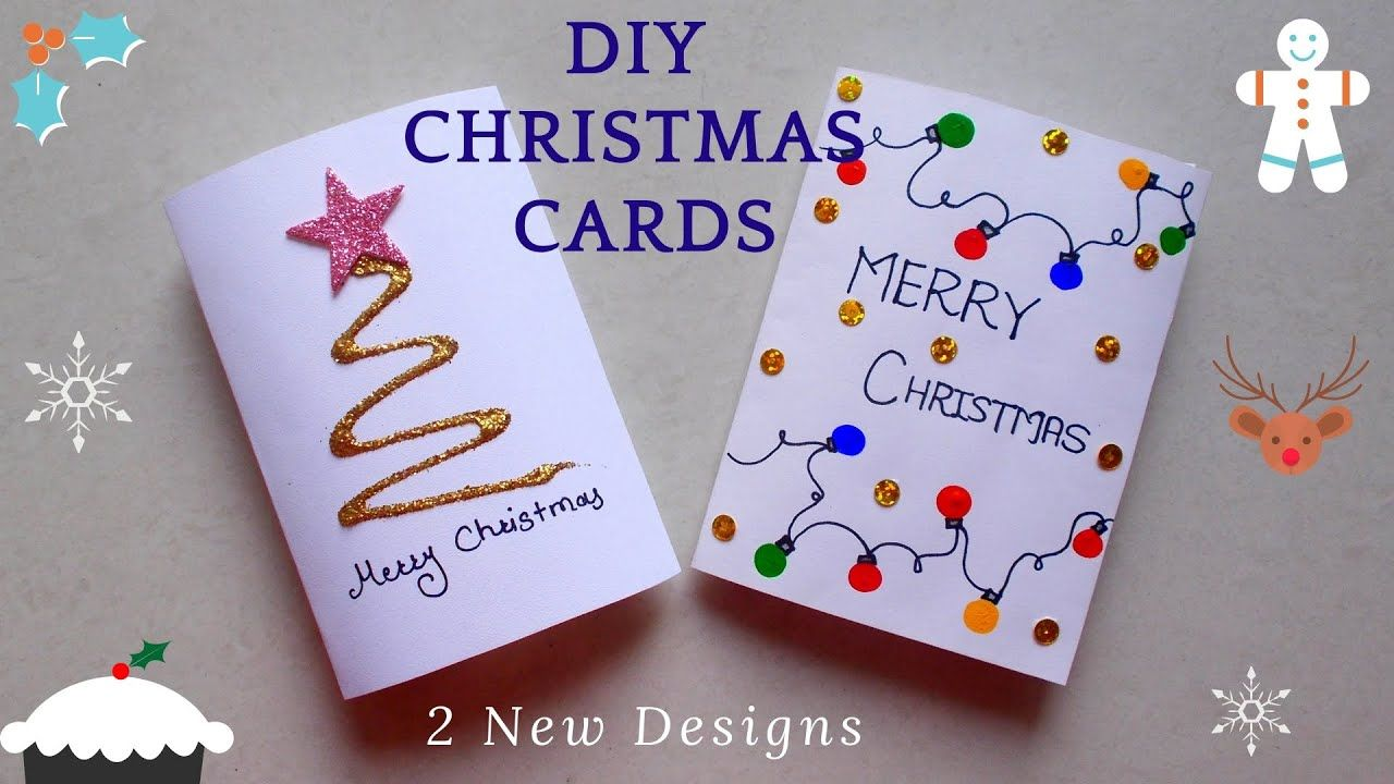 8 Best Picture Simple Christmas Card Making In 2021 Christmas Card Template Christmas Cards To Make Christmas Cards