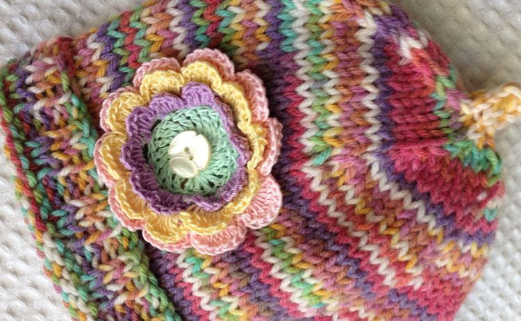 One Dozen Easy Peasy Free Crochet Flower Patterns Free Crochet