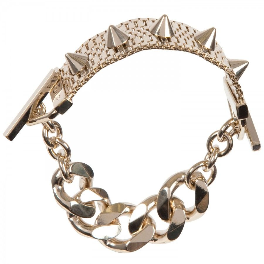 Studded chain bracelet, Bracelets & Cuffs, Harvey Nichols Store View
