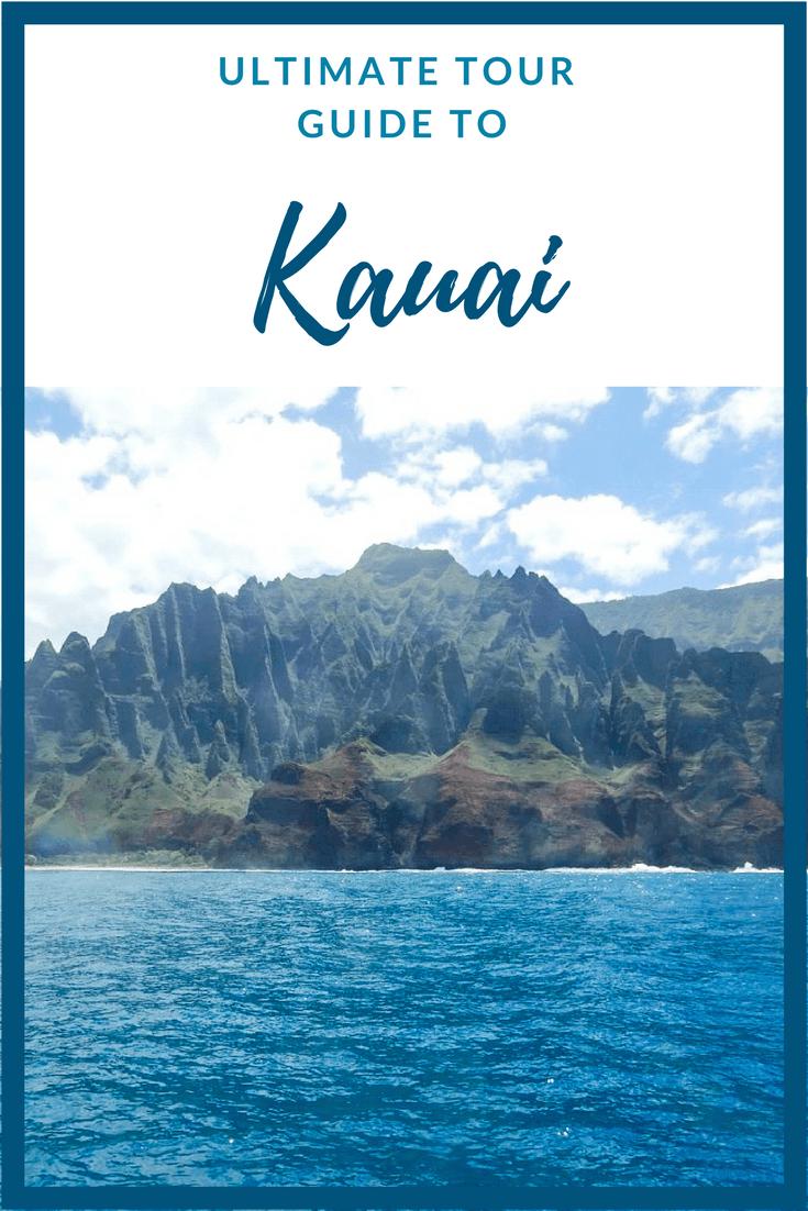 Your 1 week comprehensive tour guide to the beautiful Hawaiian island of Kauai #ustraveldestinations