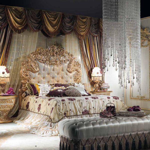 It lia estilo europeu cl ssico branco e da cor do ouro for Mobilia italia