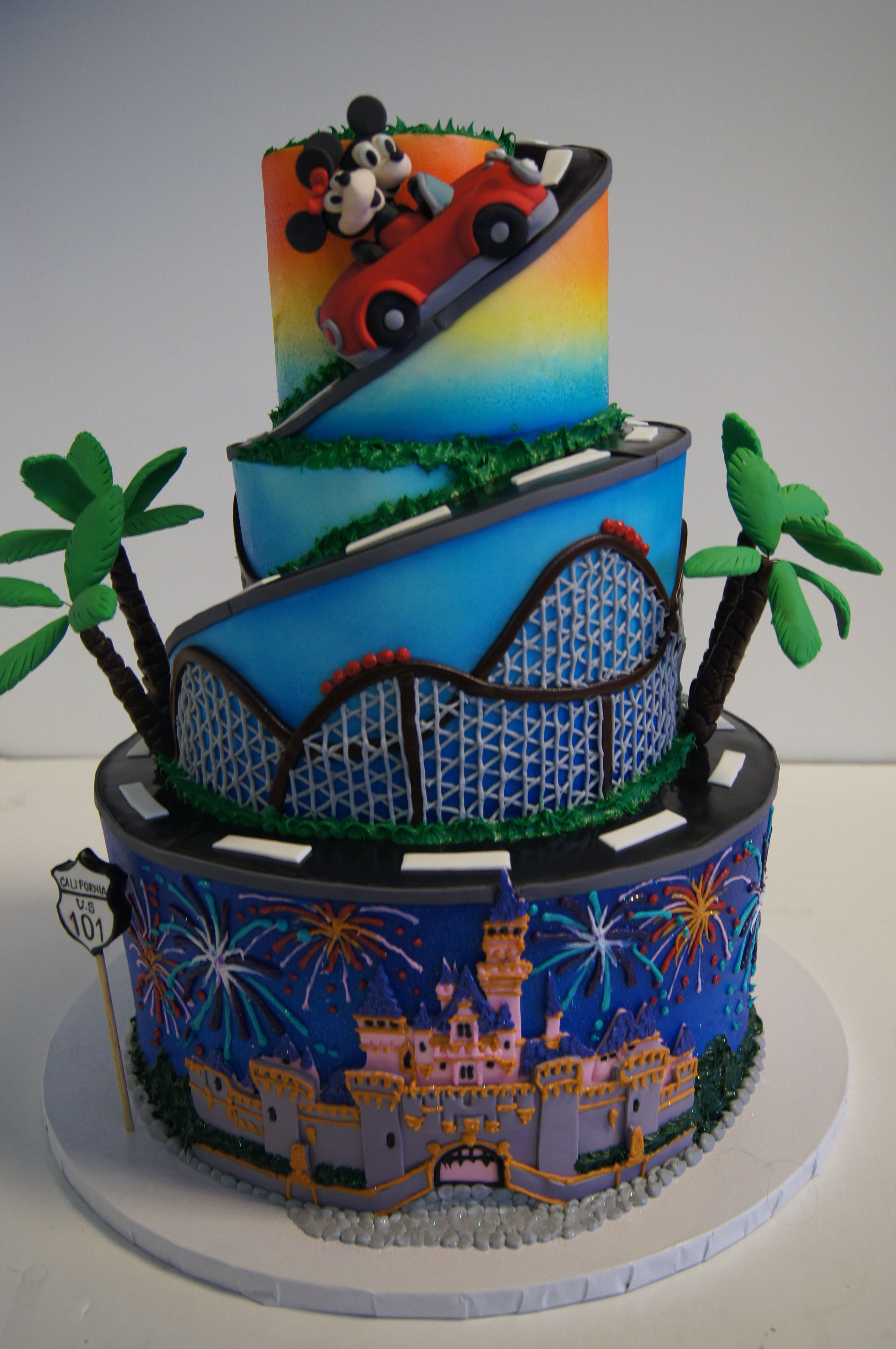 Disneyland Cake Adventures By Disney Cakes For Boys Boy Birthday