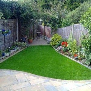 Small Garden Design Ideas With Artifical Grass , Stunning And Small Garden Design Ideas In G… | Artificial Plants, Small Artificial Plants, Artificial Garden Plants