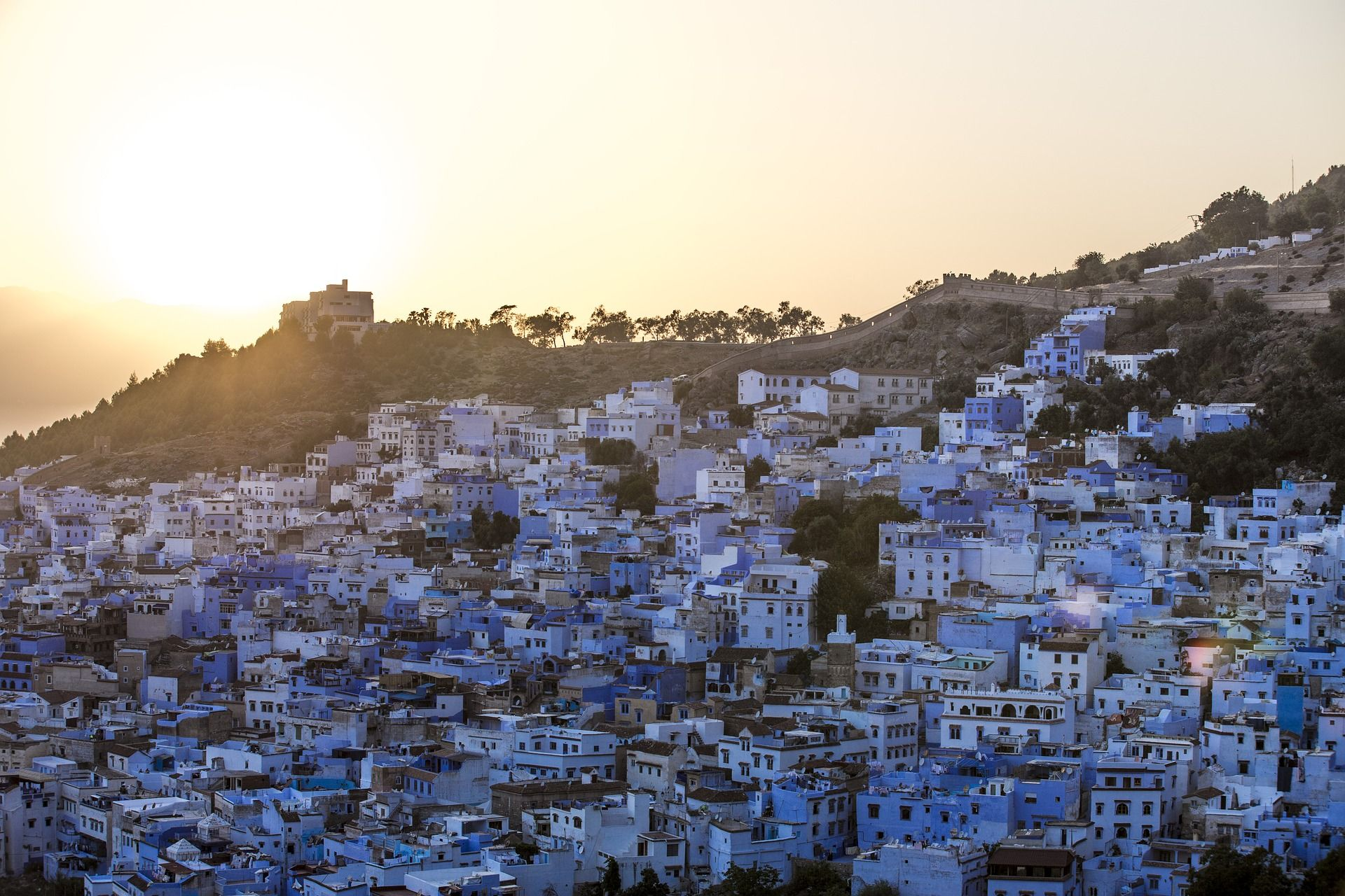 Cidade azul de Chefchaouen, Marrocos - SAPO Viagens