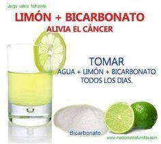 beber agua con limon y bicarbonato