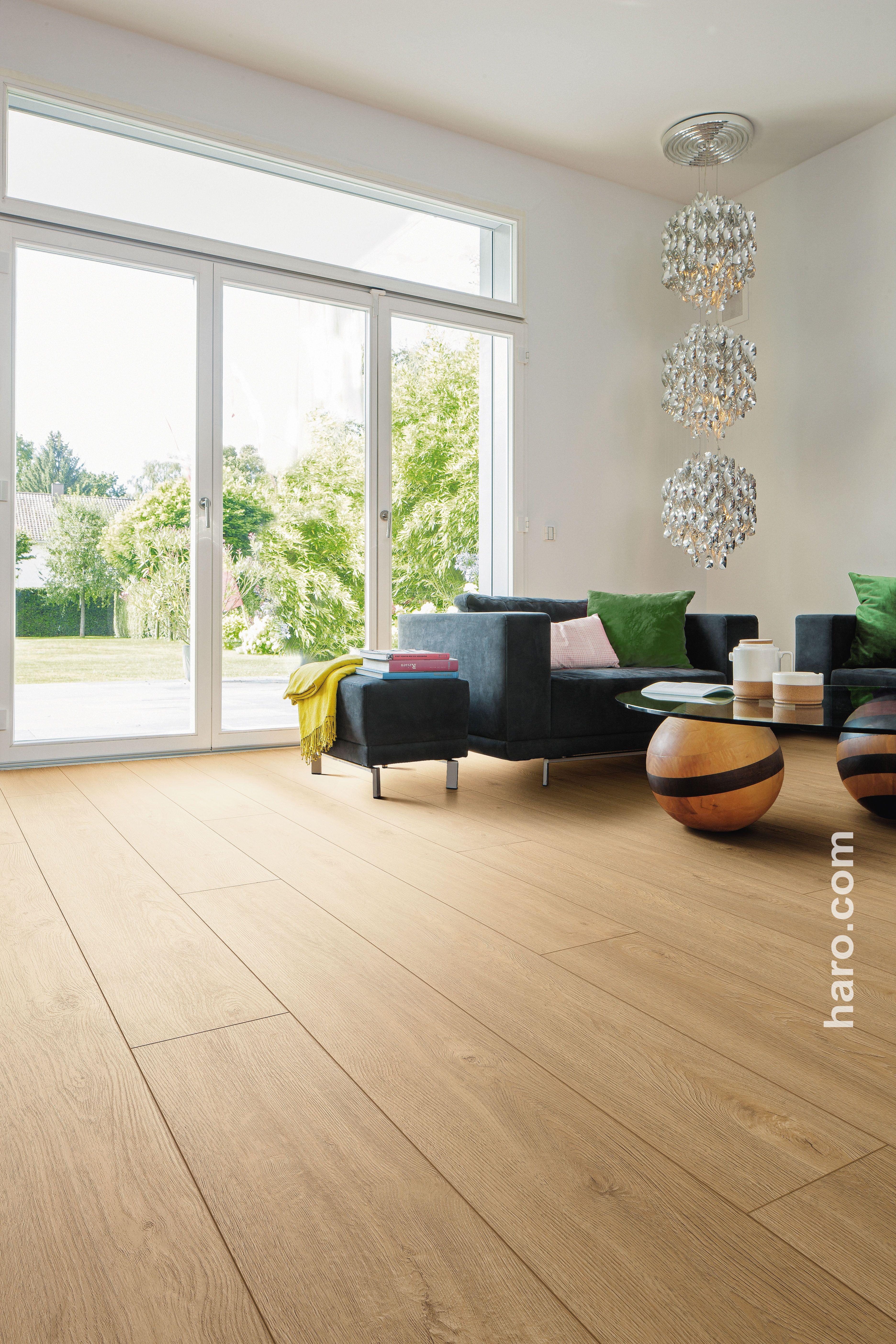 DISANO by HARO Classic Landhausdiele XL 4V Eiche | Living room ...