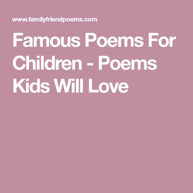Famou Poem For Children Kid Will Love Poems Sonnet 93 Paraphrase