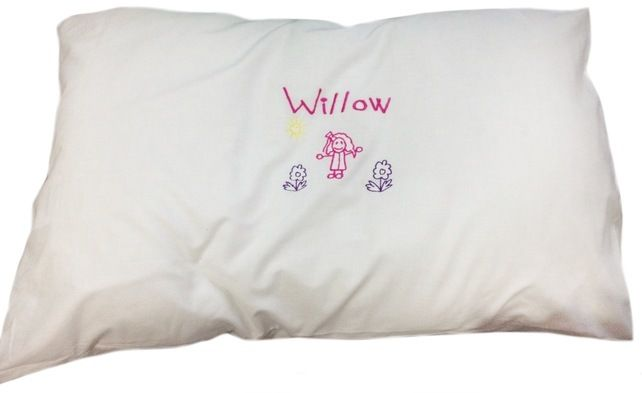 Personalised, Customisable, Single, Pillow Case. £5.99