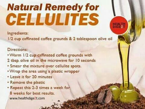 Natural remedy for cellulites