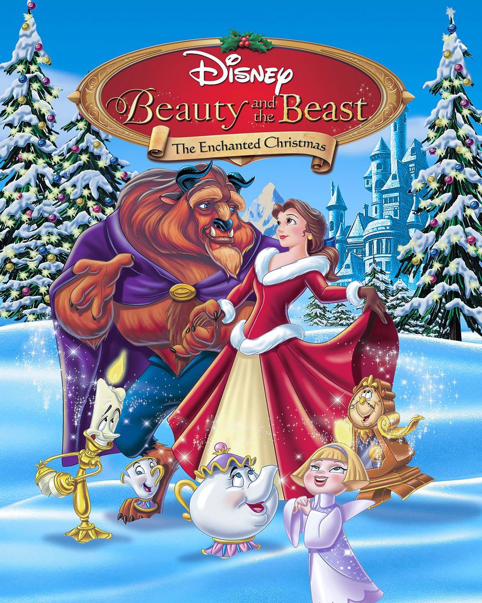 Pin By Dalmatian Obsession On Beauty The Beast Kids Christmas Movies Disney Christmas Movies Animated Christmas Movies