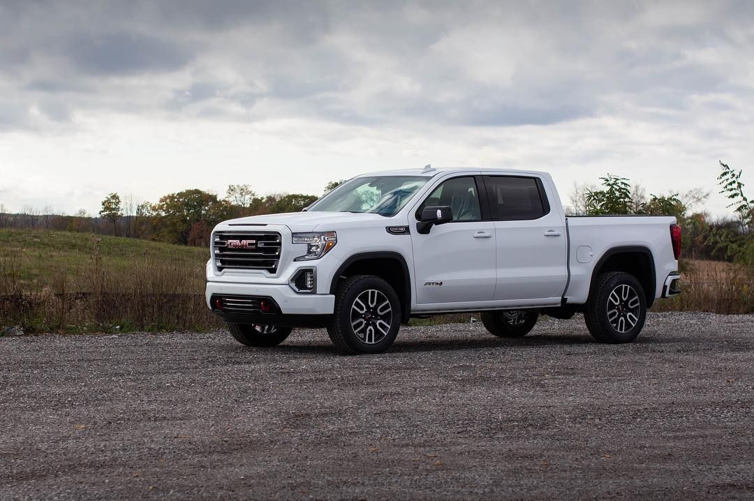 2019 Gmc Sierra 1500 At4 In Summit White Gmc Sierra 1500 Gmc