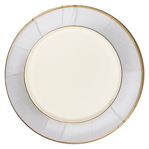 Buy Caspari Paper Plates Pack of 8 Silver Moire Online at johnlewis.com  sc 1 st  Pinterest & Buy Caspari Paper Plates Pack of 8 Silver Moire Online at ...
