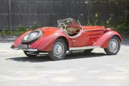 Automobilhersteller: Wanderer Ausführung: W25 K Roadster von Wendler Jahr: 1936-1938 Kunst: Roadster