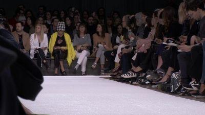 Presented at Paris Fashion Week on 2 March, at the Grand Palais – Salon d'Honneu