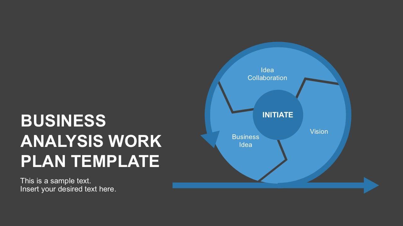 Free Business Analysis Work Plan Template Career Pinterest