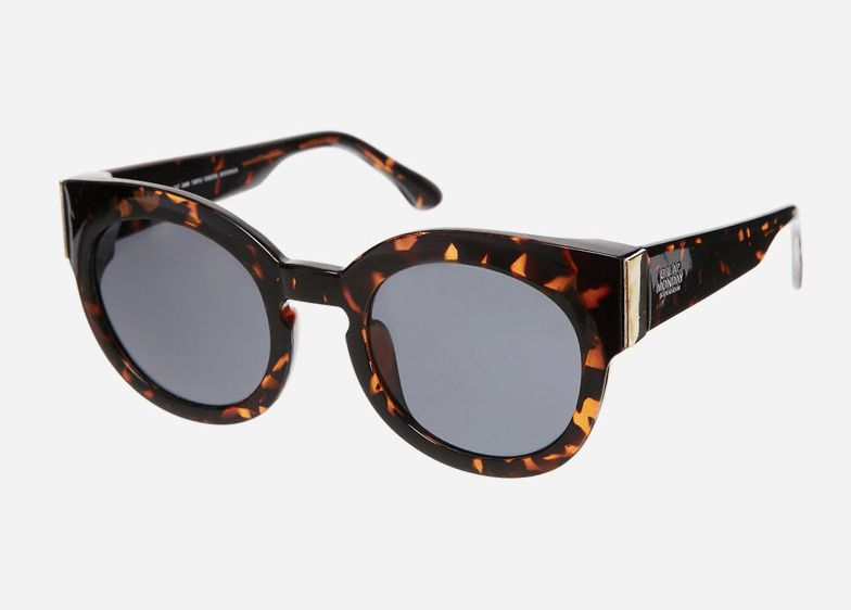 These Chunky Cat Sunglasses from Cheap Monday are inspired by the all-time classic 'cateye' design, except with thick frames for added attitude. With thick frames and wide temples, these sunglasses are bold, yet chic. They are also nickel-free and easy to maintain.  http://www.zocko.com/z/JFE2u