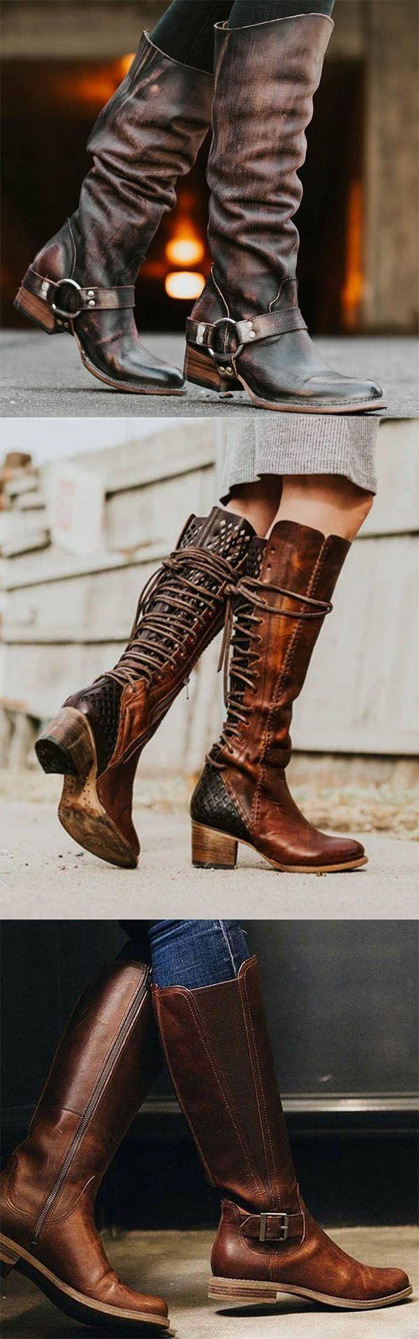VINTAGE BOOTS™ Comfortabele laarzen voor dames met
