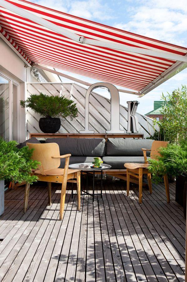 Home by aleksi hautamäki, via Behance Outdoor awnings