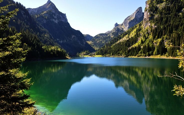 25 Magnificent Nature Landscapes World Inside Pictures Mountain Wallpaper View Wallpaper Lakeside View Landscape high resolution hd wallpapers