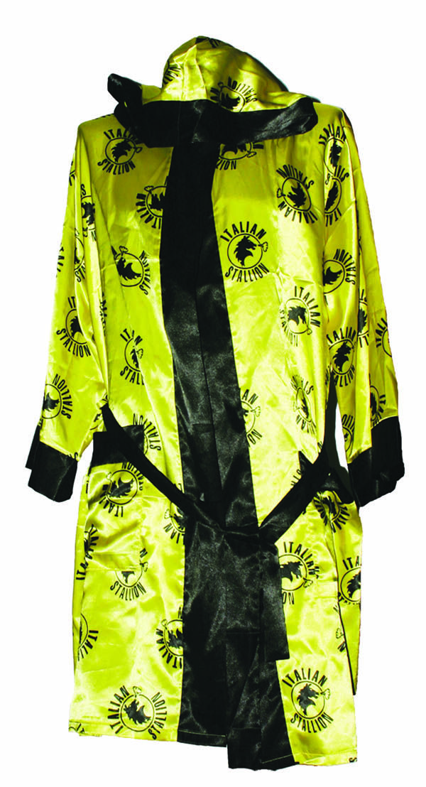 8db2e4130b Rocky Italian Stallion All-over Print Yellow Polysatin Adult Robe  19.95   tvstoreonlinewishlist