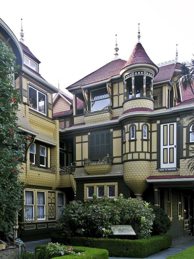 Visiting the winchester mystery house in san jose ca for The winchester house