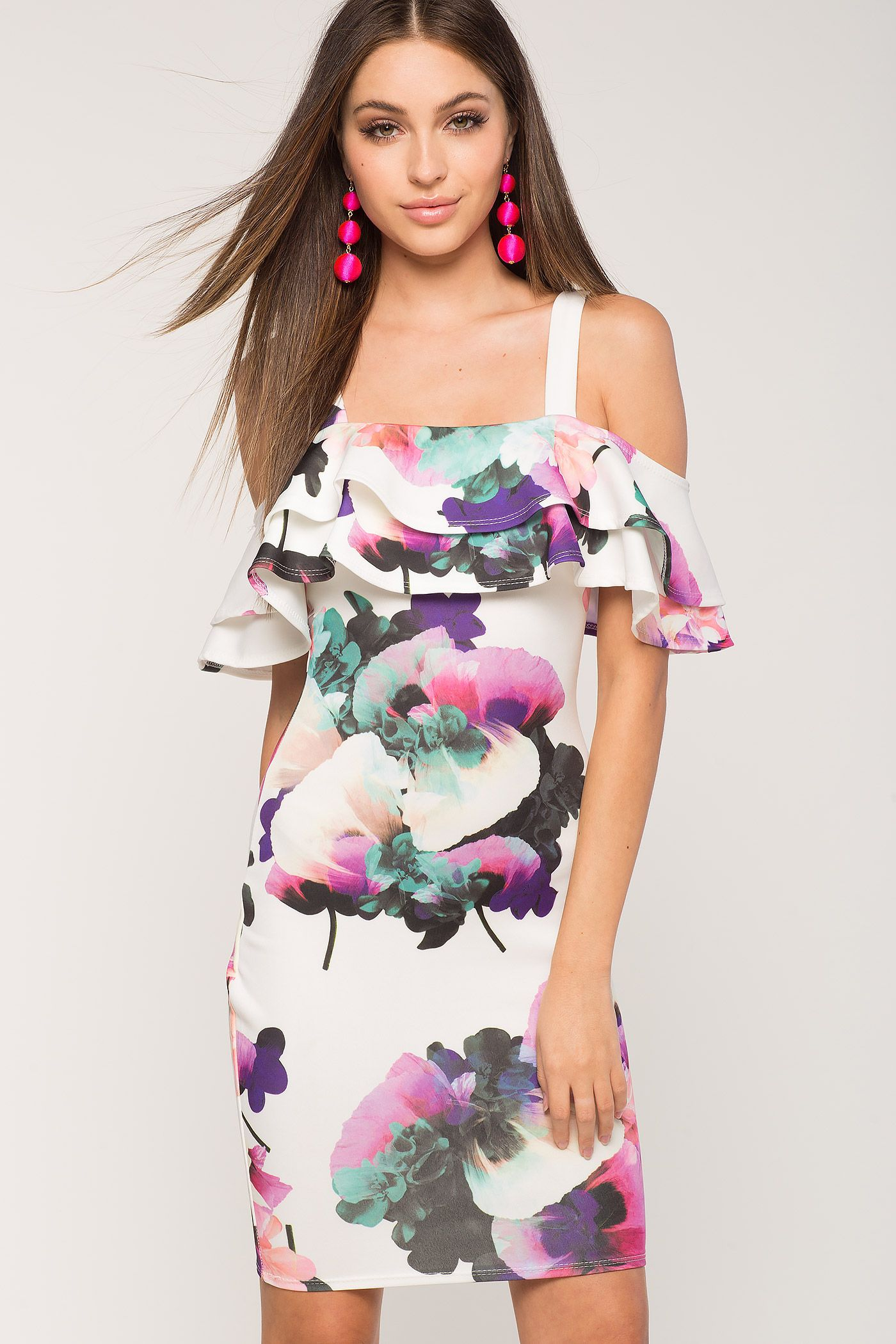 e2be76508 Vestidos de flores cortos 2017 Agaci Store
