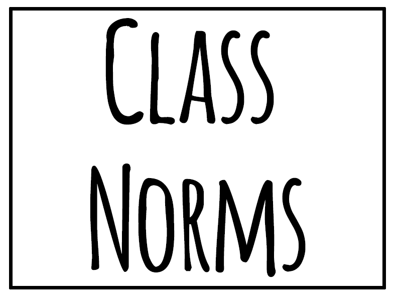 Math = Love: Class / Group Work Norms Poster Set (Free Download ...