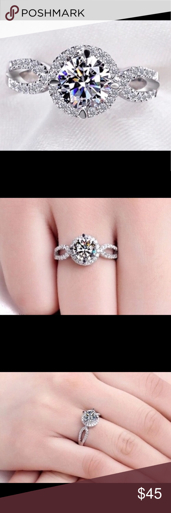 Swarovski Crystal Elements Ring | Swarovski, Swarovski jewelry and ...