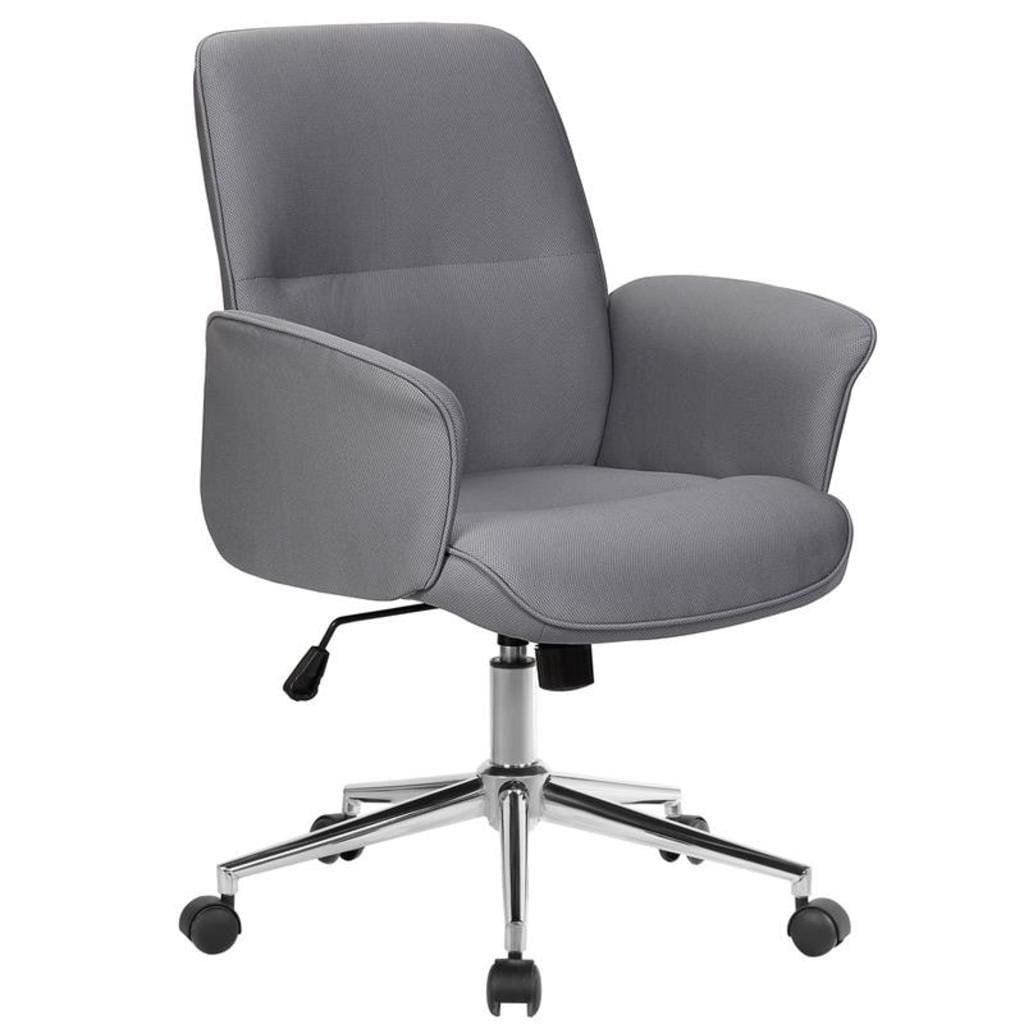 Bürostuhl Drehstuhl Stoff Grau 0704M8062 in 2020
