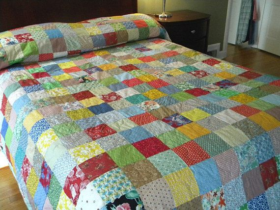 patchwork quilt king