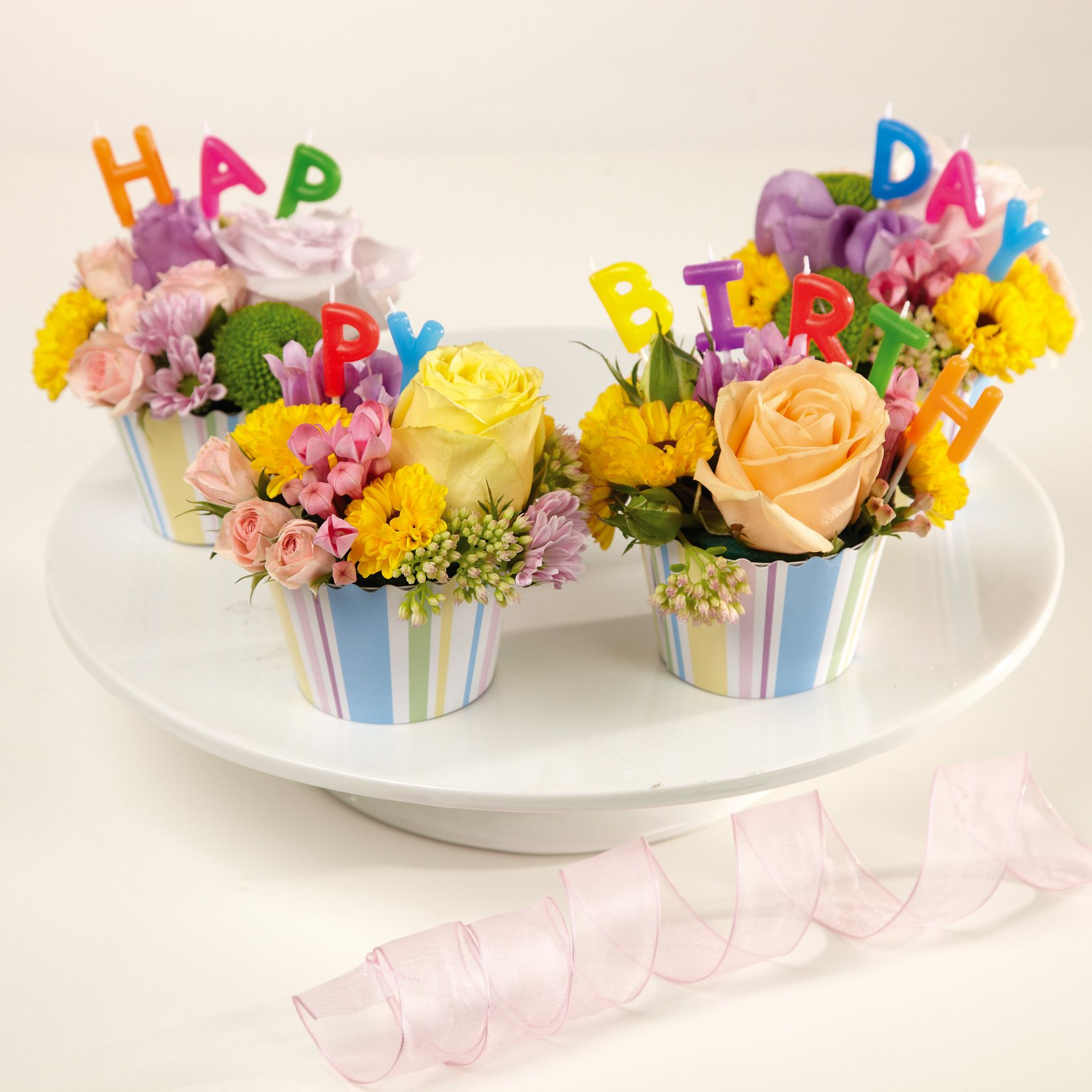 Happy birthday oasis floral cupcakes pinterest happy birthday
