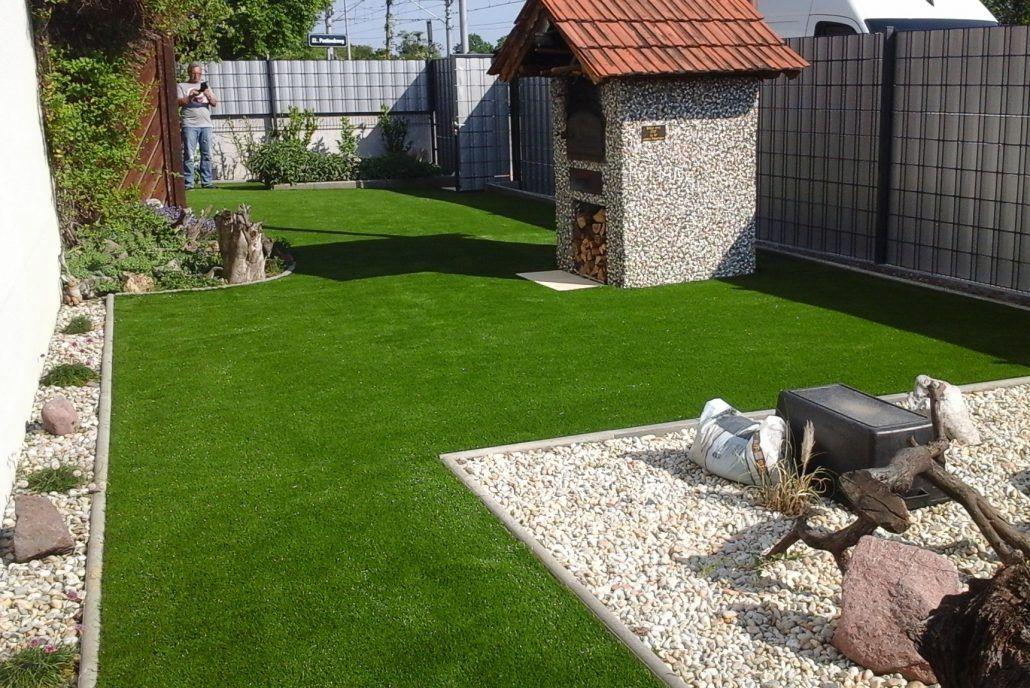 Kunstrasen Im Garten Galand Gartengestaltung Og Front Yard Outdoor Decor Outdoor