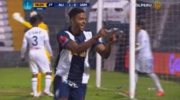 Alianza Lima: Lionard Pajoy anotó doblete ante San Martín.
