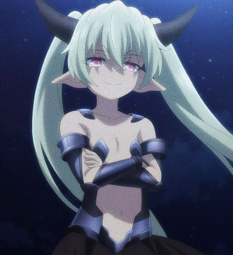 Klem from how to not summon a demon lord anime demon