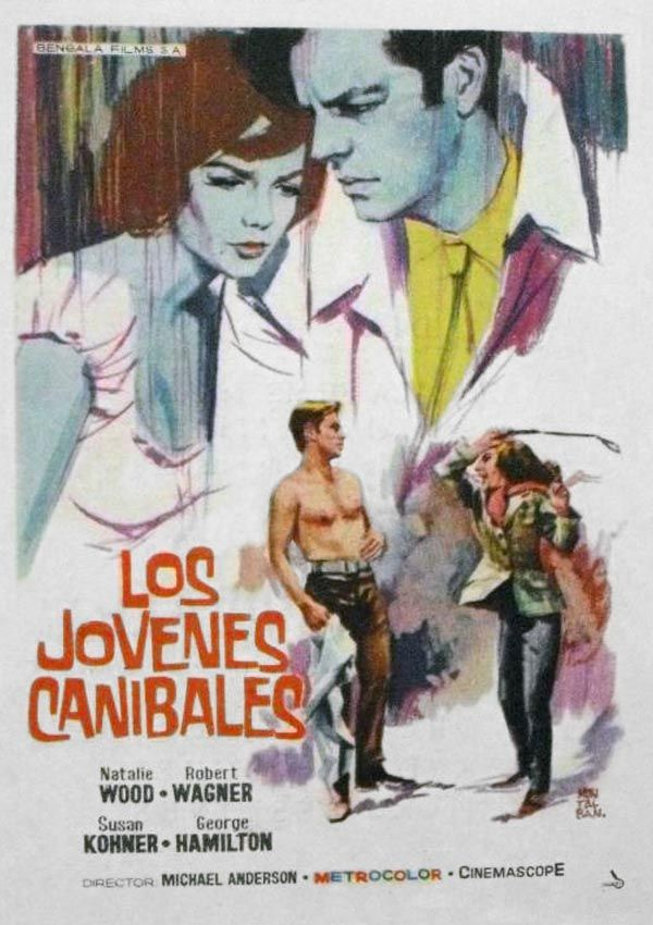 ALL THE FINE YOUNG CANNIBALS (1960) Robert Wagner, Natalie Wood, George Hamilton, Susan Kolhner, Pearl Bailey, Anne Seymour, Onslow Stevens, Mabel Alberson, Louise Beavers, Virginia Gregg. Director: Michael Anderson.