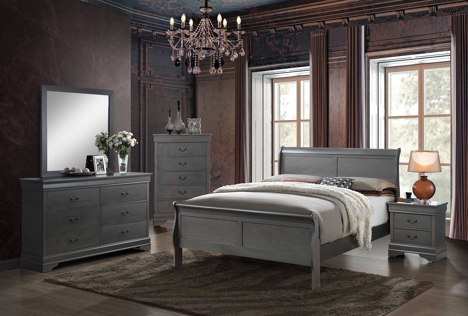 Best Louis Philippe Iii Contemporary Bedroom Sets End2018 400 x 300