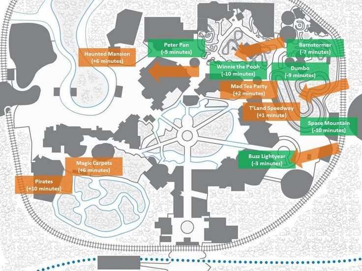 How Fastpass+ Has Affected Wait Times At Specific Magic Kingdom Attractions  | Walt Disney World