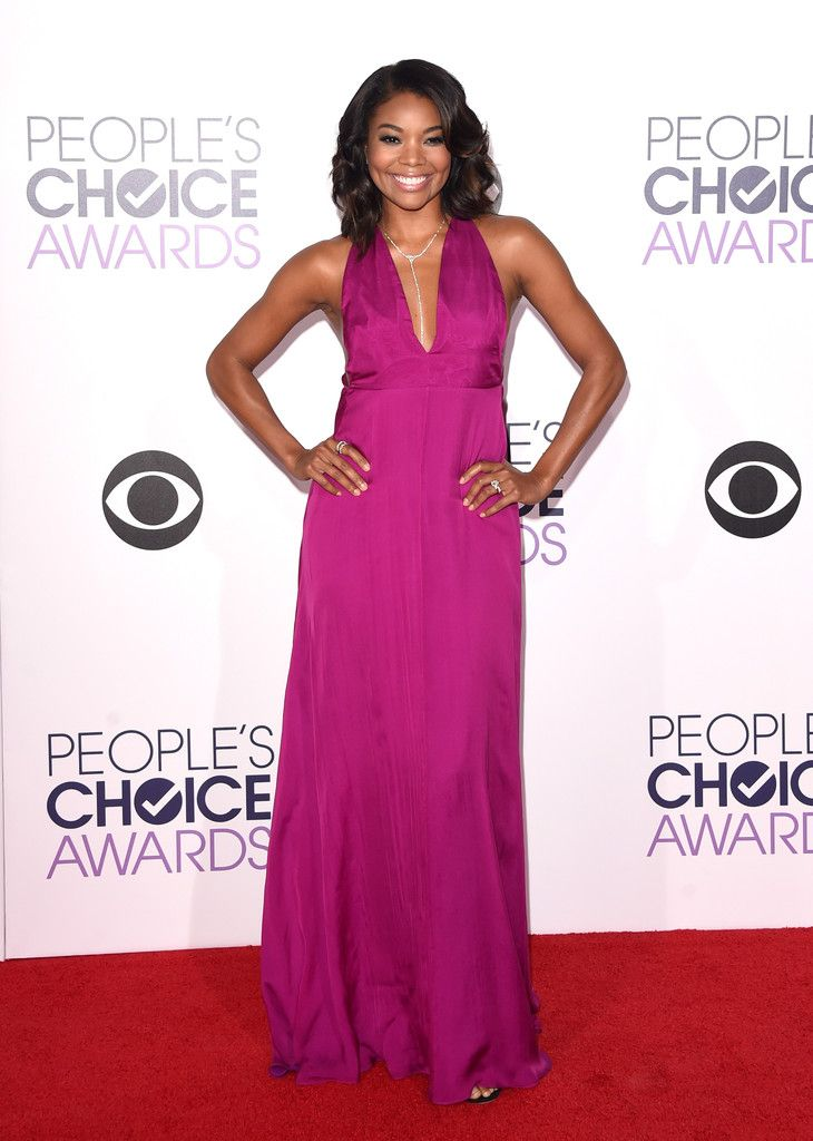 gabrielle union in honor at the 2015 people's choice awards. #peopleschoice